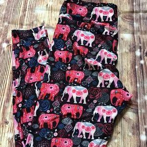 Lularoe Size TC Elephant Leggings